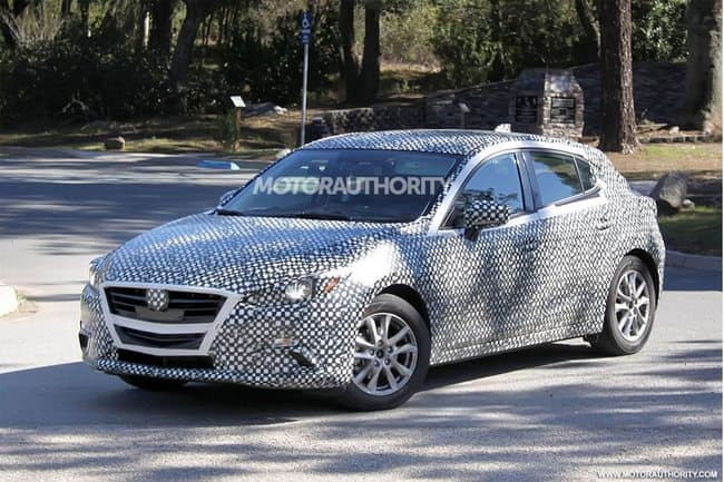 Disguised 2015 Mazda 3