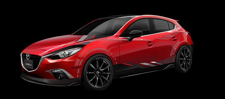 Mazda 3 Hatchback Aftermarket Parts Photos