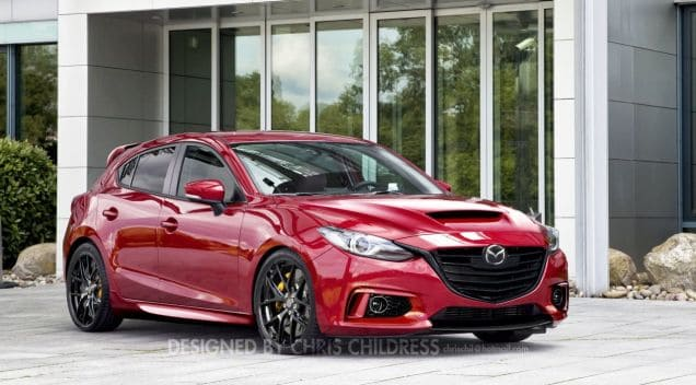 A New Mazdaspeed 3 Corksport Mazda Performance Blog