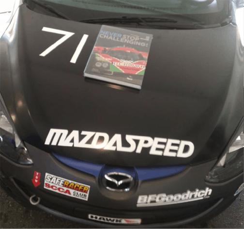Mazdaspeed race