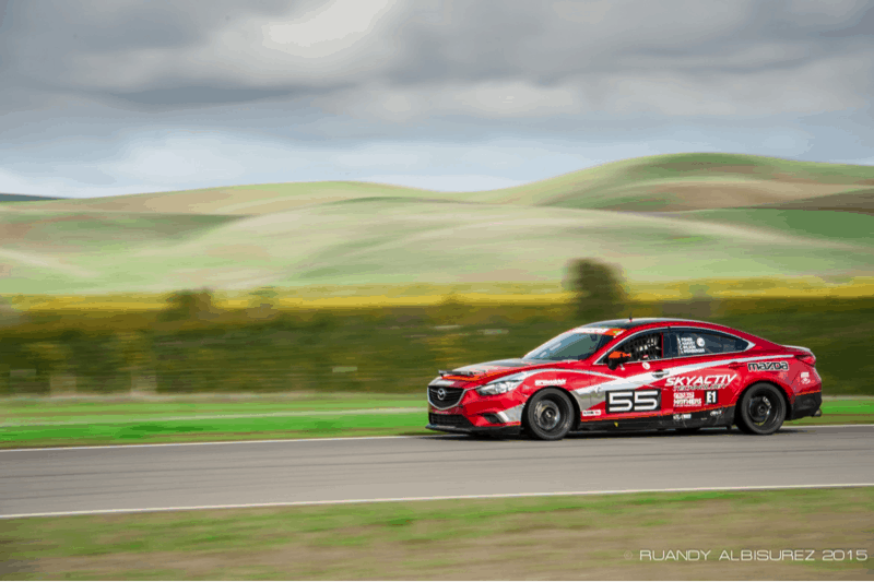 CorkSport Mazda parts ready for racing