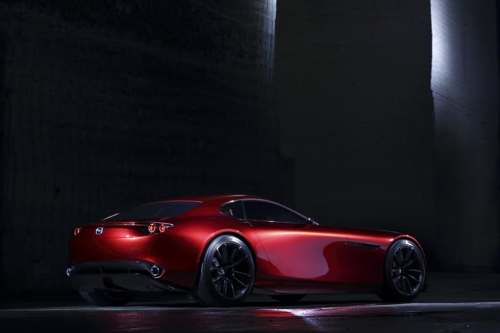 Mazda unveiled their latest concept car, the new RX-VISION with a rotary engine.