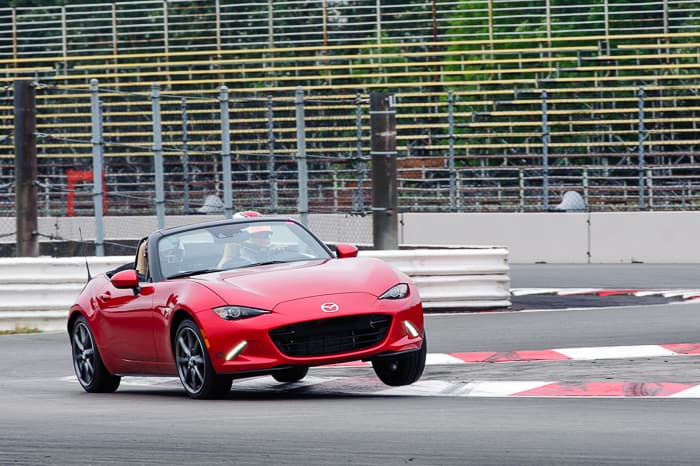 Give your 2016 MX-5 more control with the CorkSport front and rear swaybars.