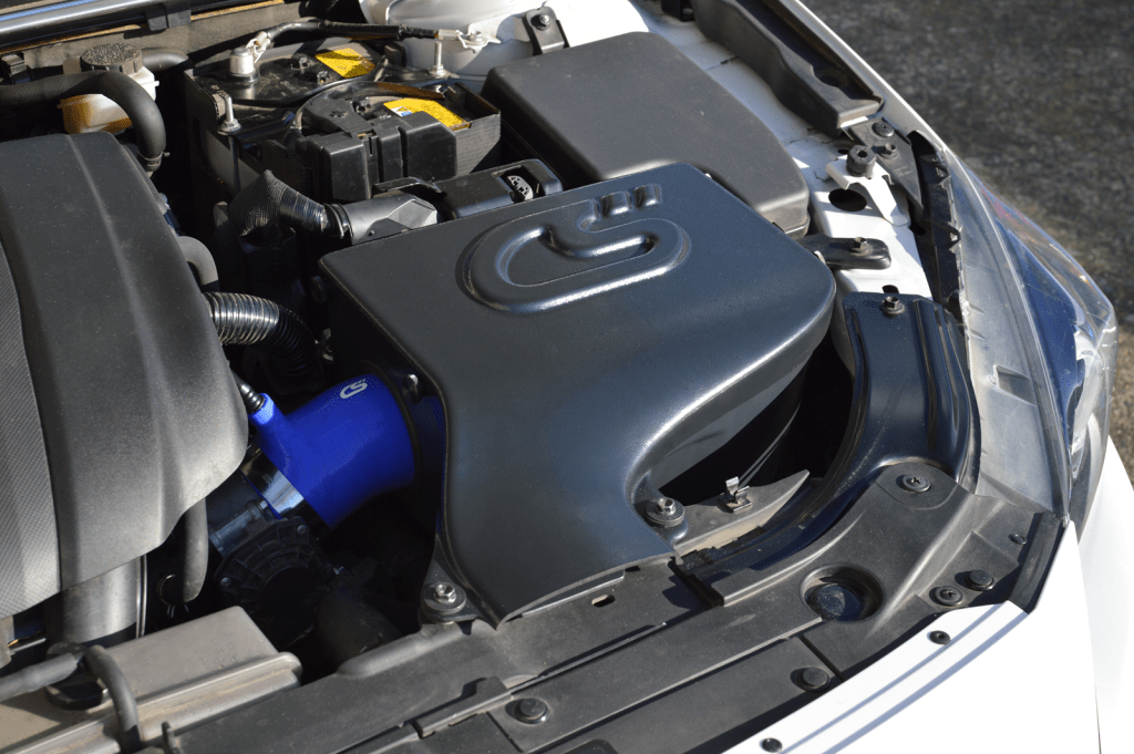 Get your 2014 Mazda 3 the cold air it needs with the CorkSport cold air box that goes perfectly with the CorkSport SRI.