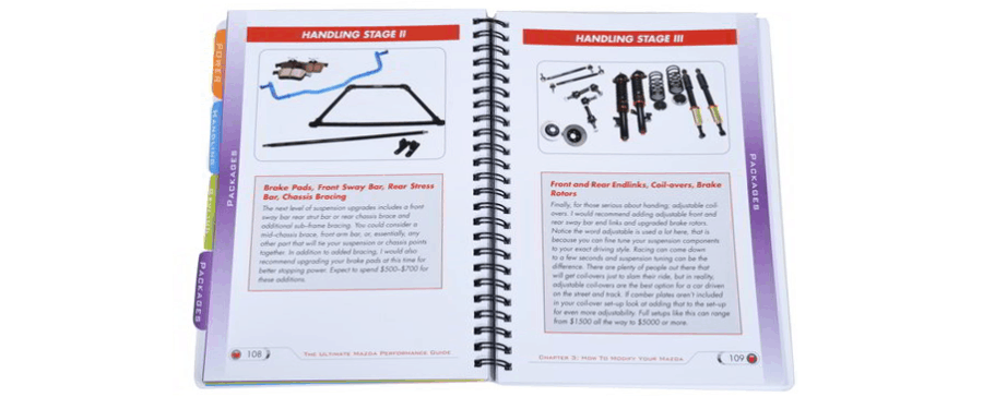 Mazda performance guide book