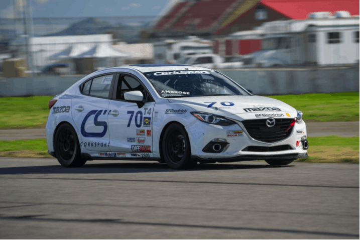 Derrick Racing for CorkSport at SCCA