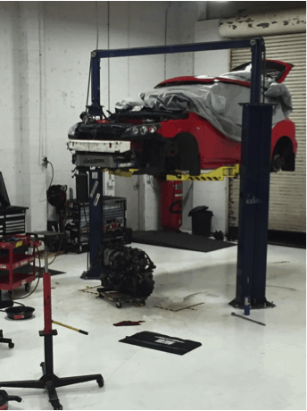 Breaking in a Mazda engine