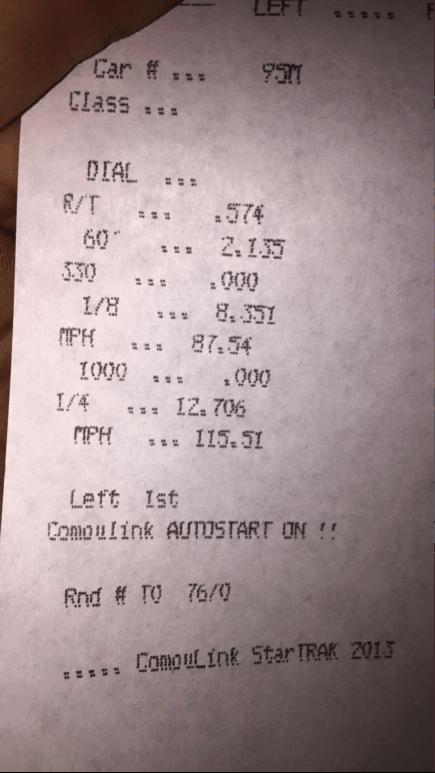 CorkSport built for speed receipt
