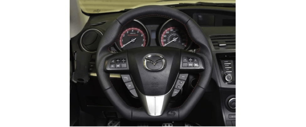 Mazdaspeed3 Leather Steering Wheel