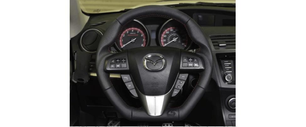 Mazdaspeed3 Leather Steering Wheel