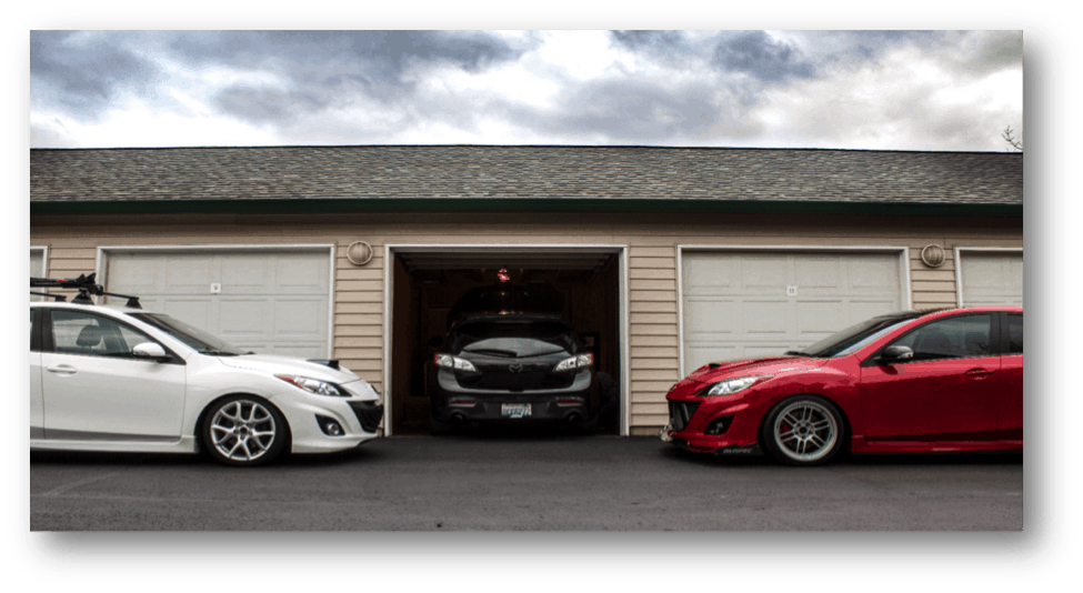 Garage days and your Mazda