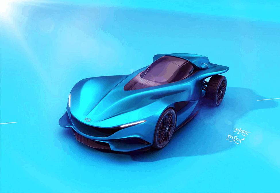 Mazda Shinshi Concept front-end