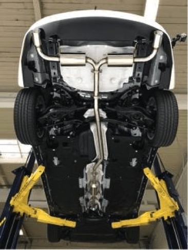 Mazda 6 Power Series Exhaust