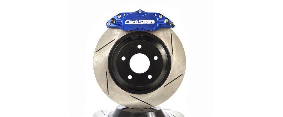 CorkSport's Mazda 3 big brake.