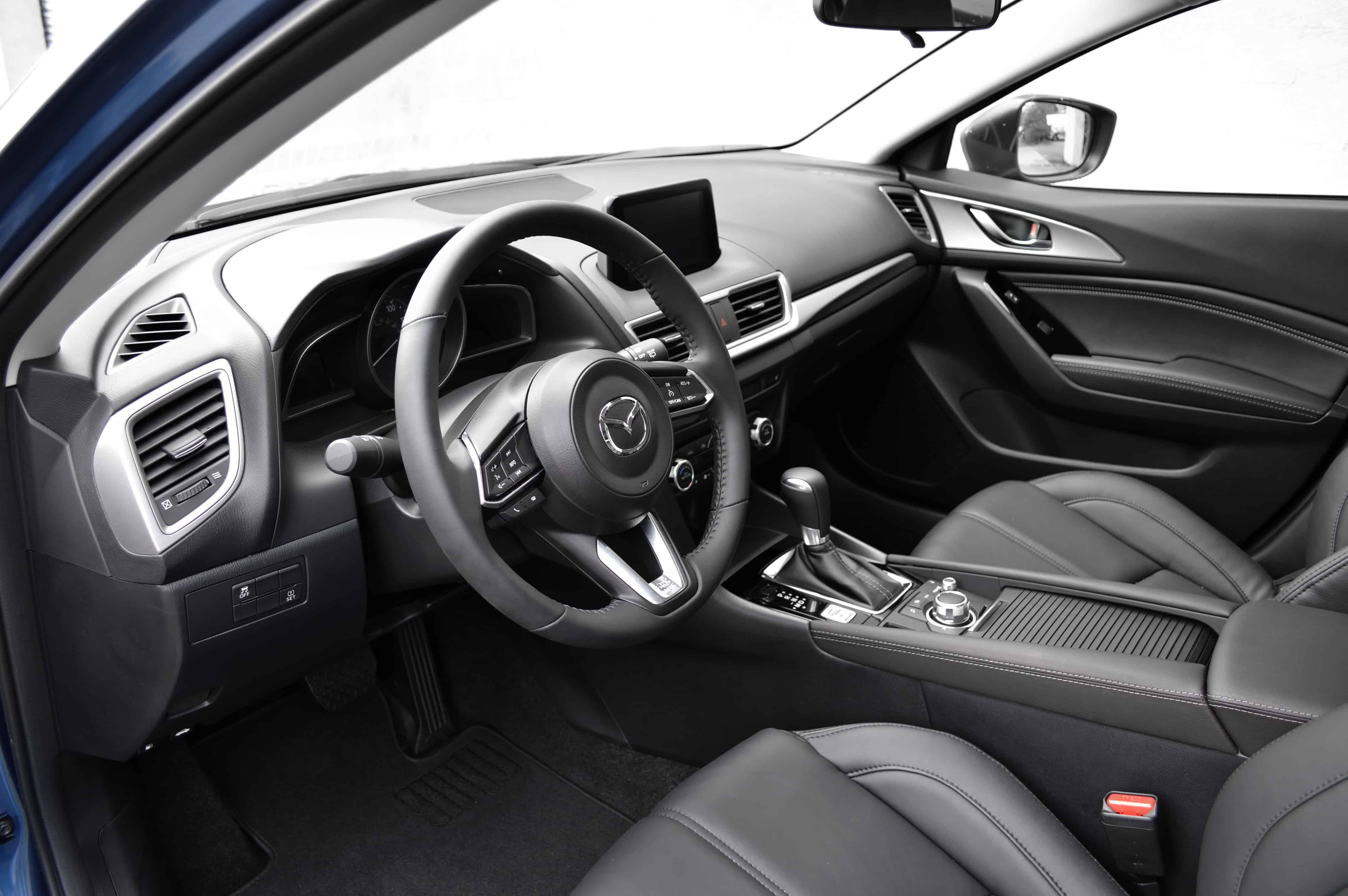 faceoff mazda 3 vs civic hatch corksport mazda performance blog rh corksport com Mazda 3 Owners Manual Mazda 3 2017 Steering Wheel