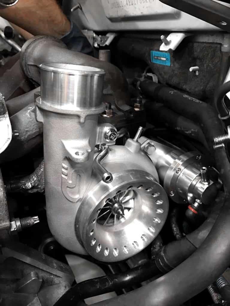 CorkSport Mazdaspeed BIG Turbo   CorkSport Mazda Performance