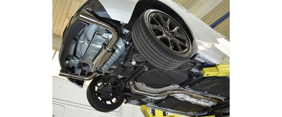 Mazdaspeed3 Exhaust Setup