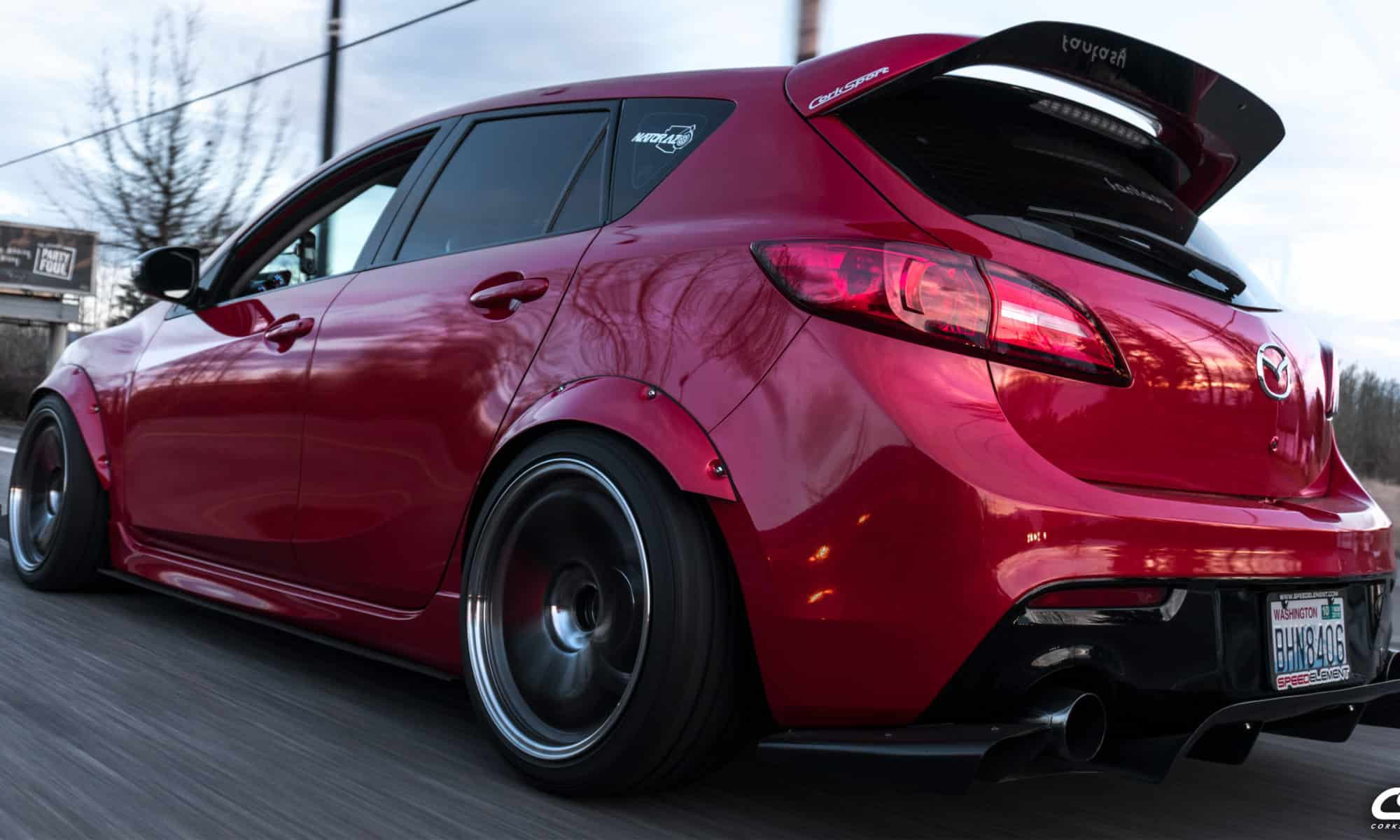 Brett's Mazdaspeed 3 Build