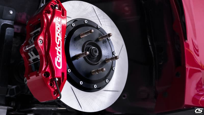 CorkSport Mazdaspeed3 13Inch Big Brake Kit