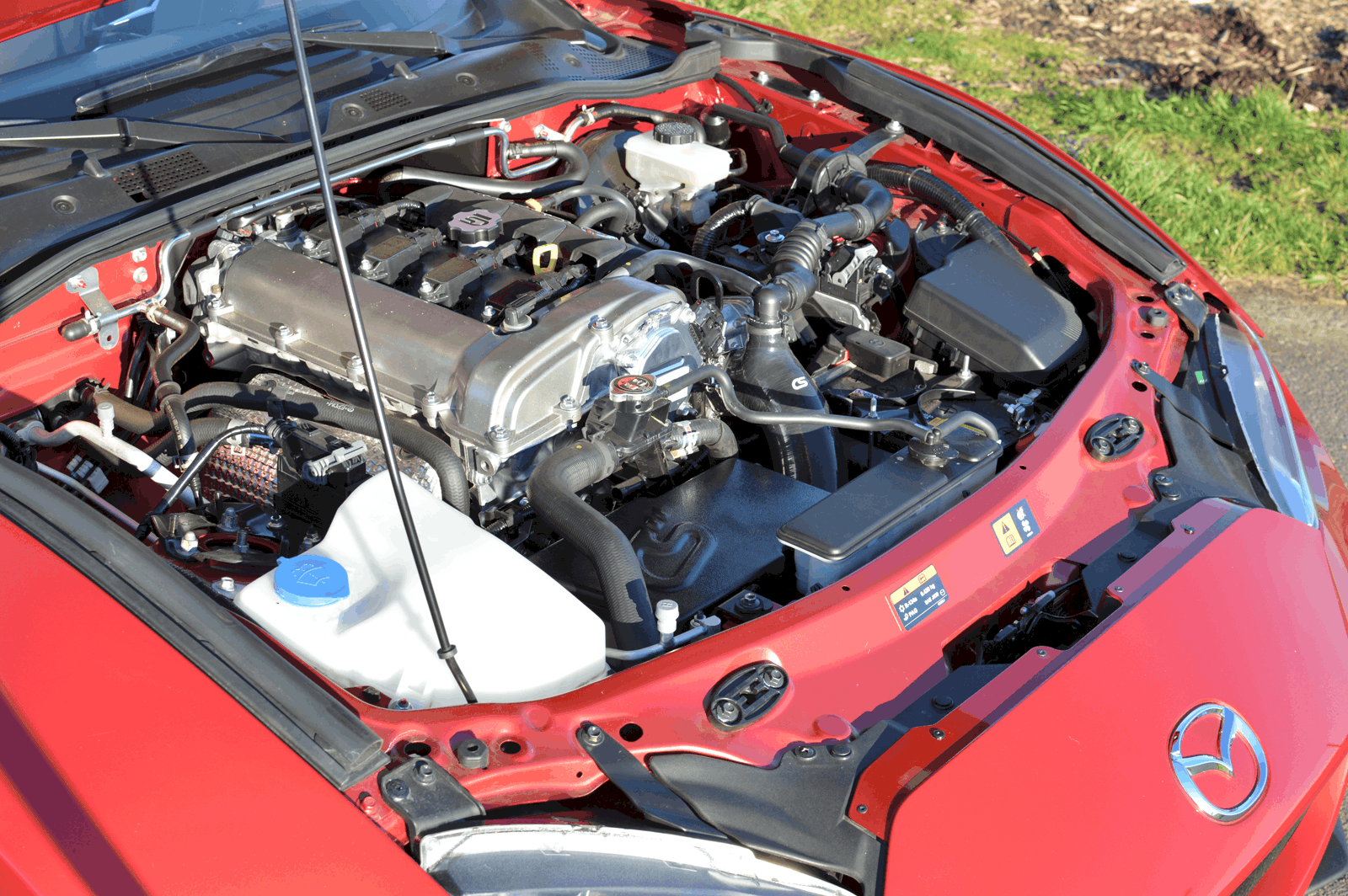 Mazda MX-5 Under the Hood
