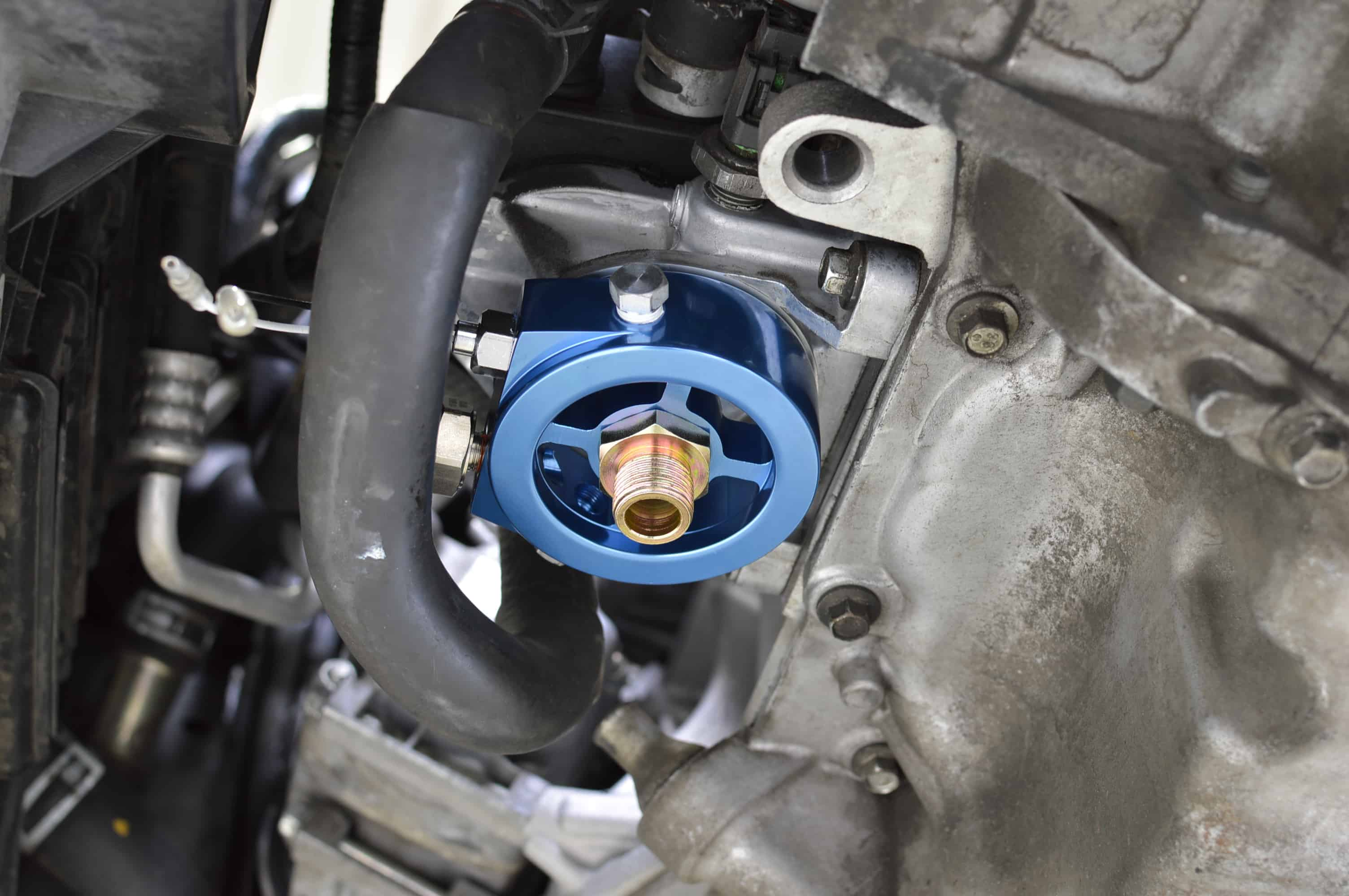Mazdaspeed Oil FIlter Housing for first generation Mazdaspeed3 and Mazdaspeed6