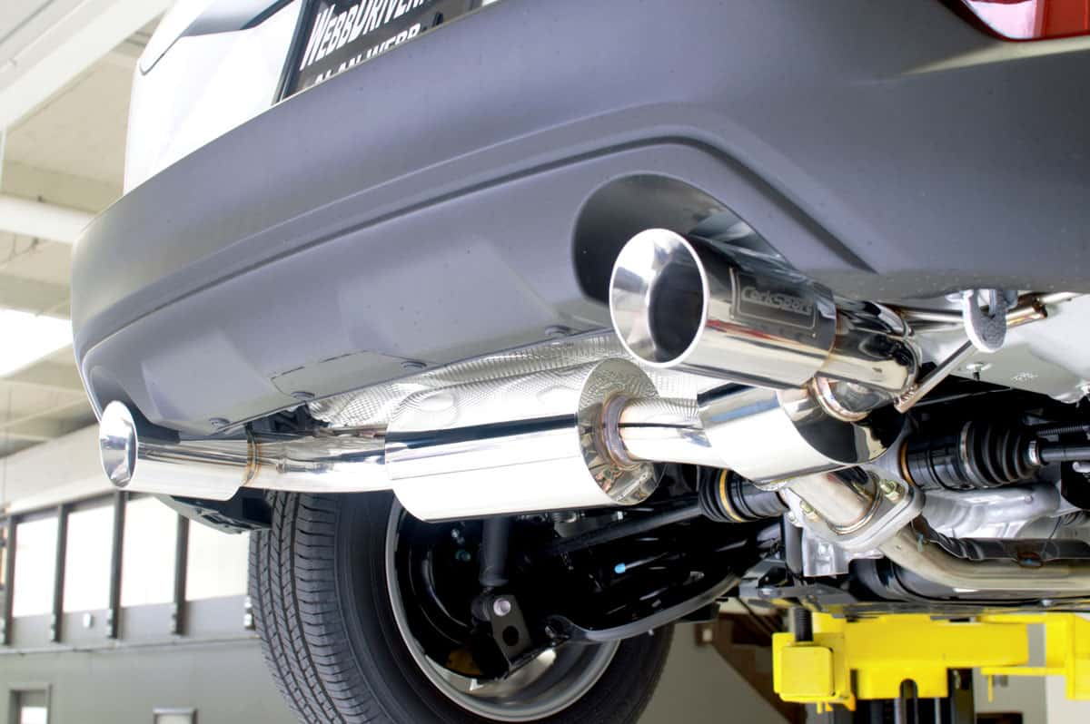 CX-3 Axle back exhaust