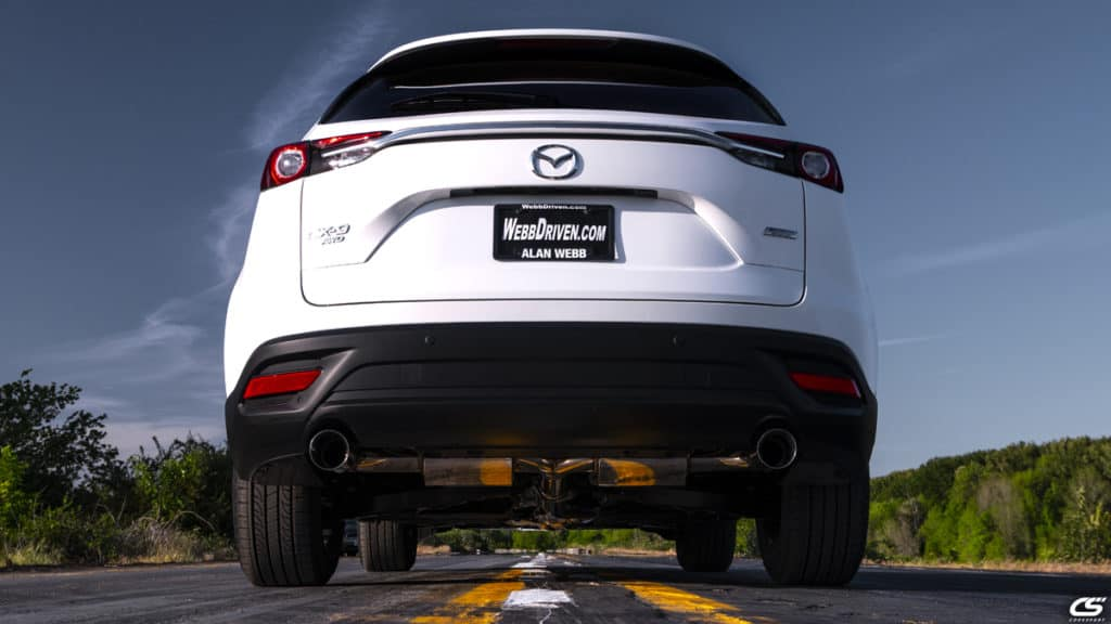 CX-9 Turbo Cat-back Exhaust | CorkSport Mazda Performance Blog