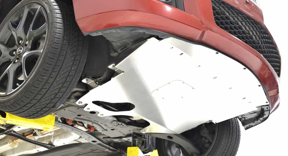 CorkSport MazdaSpeed 3 Skid Tray