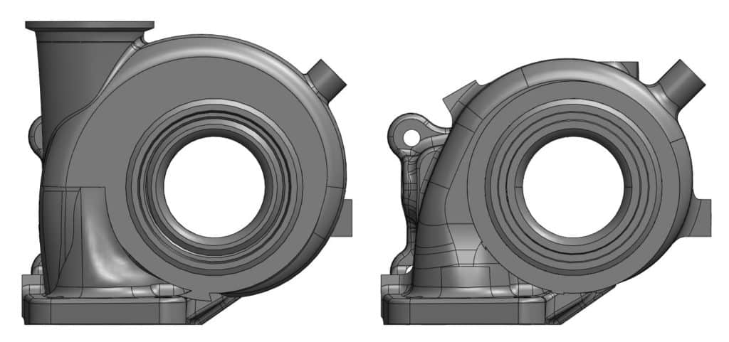 CorkSport Turbine Housing