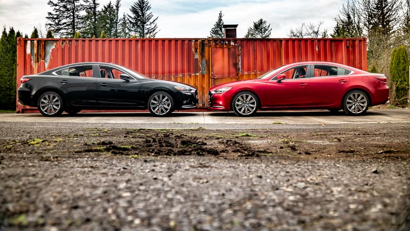 Lowered 2018 Mazda 6 vs. Stock Mazda 6