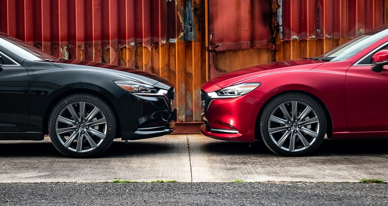 Stock 2018 Mazda 6 and CorkSport Modified Mazda 6