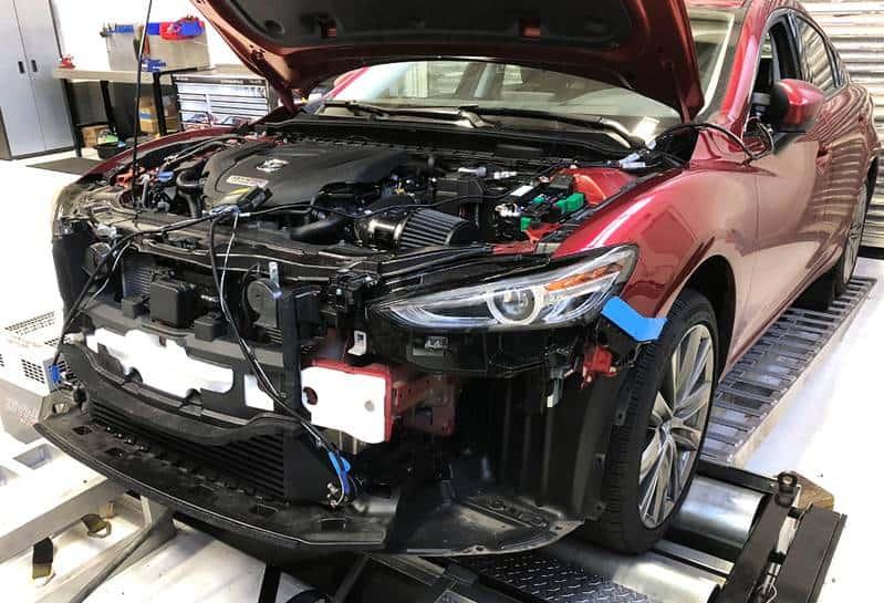 Mazda 6 on Dyno