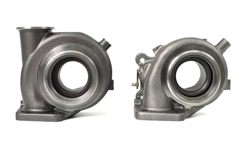 Mazdaspeed 3 turbo internal and external wastegate housings