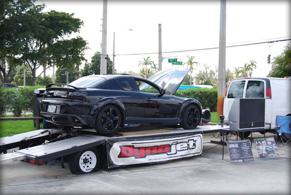 RX-8 on a dead dyno