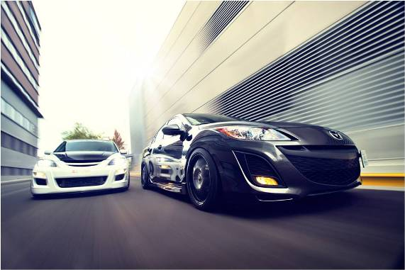 Featured Car of the Month – Mackey's Mazda 3   CorkSport Mazda