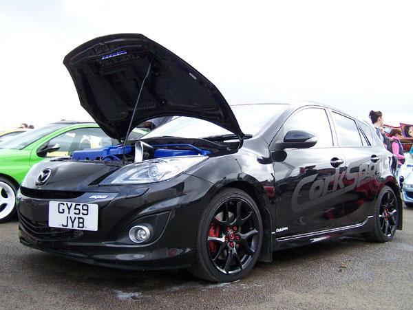 Corksport Across The Pond Dave Higson S Gen2 Mazdaspeed 3 Build Corksport Mazda Performance Blog