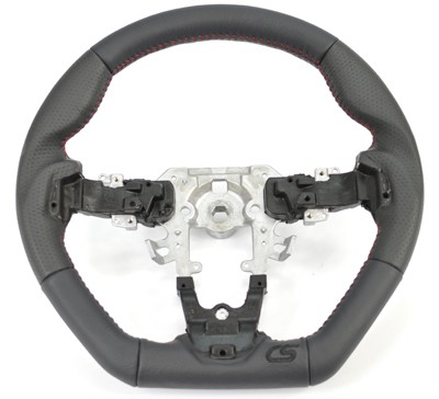 upgraded Mazdaspeed 3 steering wheel replacement