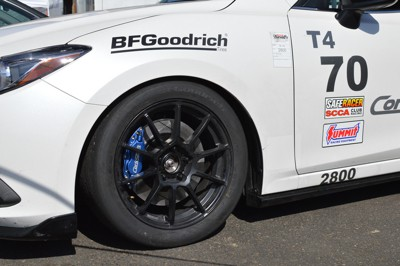 Mazda 3 race tested big brake kit