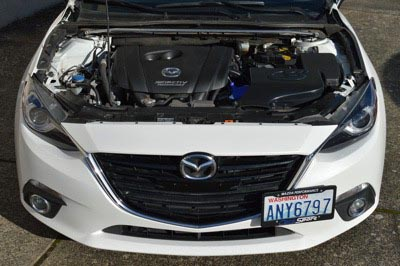 Mazda 6 cold air box