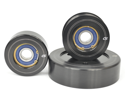 CorkSport's 2007-2013 Mazdaspeed 3 Aluminum Pulley Set is precision manufactured for lightweight performance.