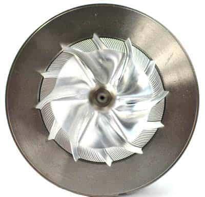 Mazdaspeed replacement turbo billet wheel by CorkSport