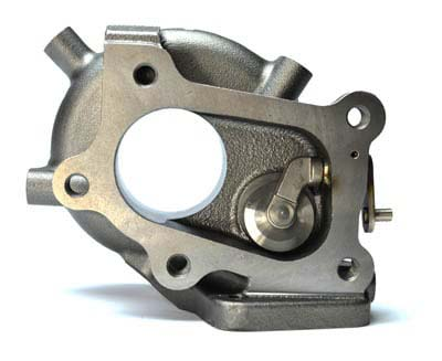 CorkSport Mazdaspeed 3 and 6 replacement turbo turbine housing.