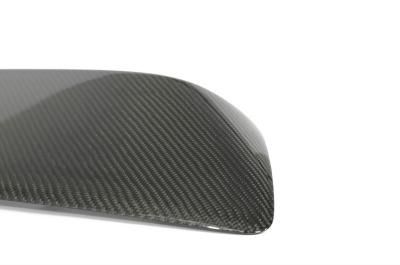 CorkSport's Mazdaspeed3 carbon fiber hood scoop has a superb finish.