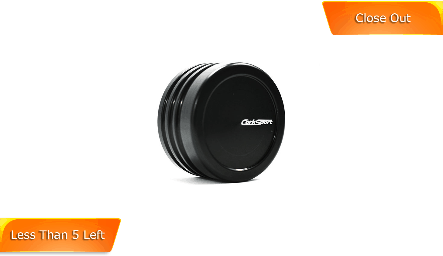 Add a personal touch to your interior with the CorkSport Command Wheel Cover.