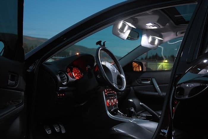 Mazda Led Light Kit Installed