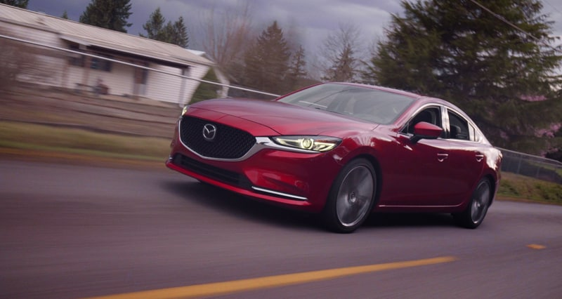 Mazda 6 turbo springs improve the performance handling