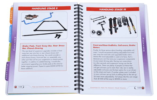 Mazda performance all in one book for you.