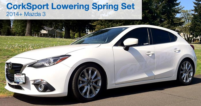 2014 Up Mazda 3 Lowering Spring Set