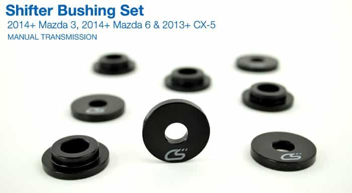 corksport shifter bushing set skyactiv manual transmission 2014 mazda3 6 cx 5 ebay. Black Bedroom Furniture Sets. Home Design Ideas