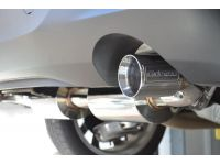 A CorkSport branded cat-back exhaust tip you can be proud of.